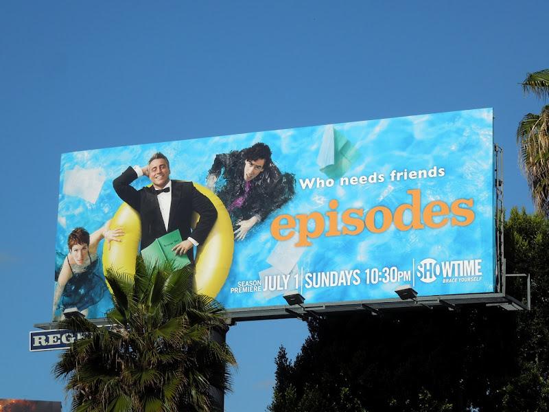 Episodes season 2 TV billboard