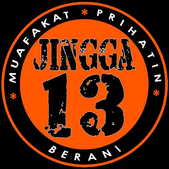 LOGO JINGGA 13 SEKARANG