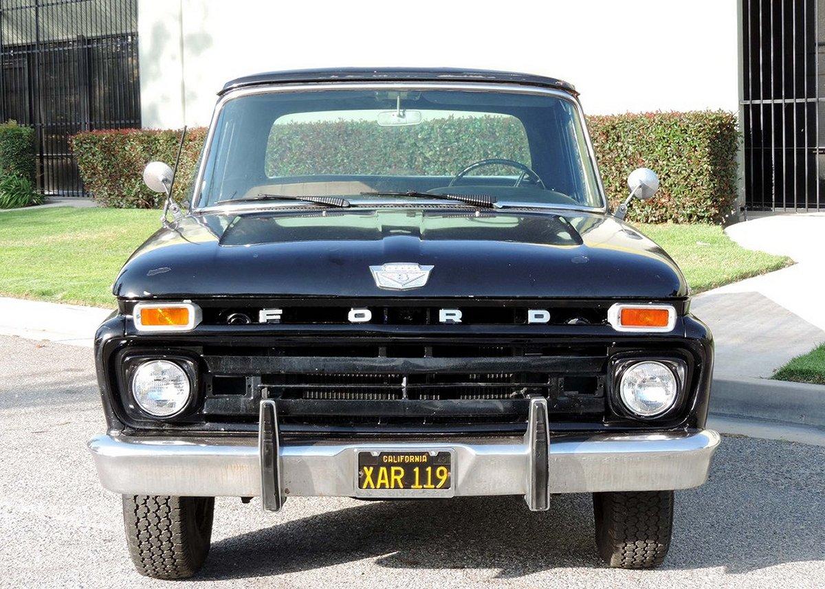 Ford F 250 Camper Special 352 V8 1965 Sales Brochure Pick Up 1964 F250 1966