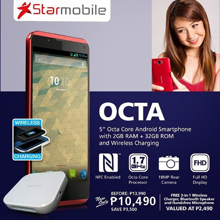 Starmobile OCTA Price Drop