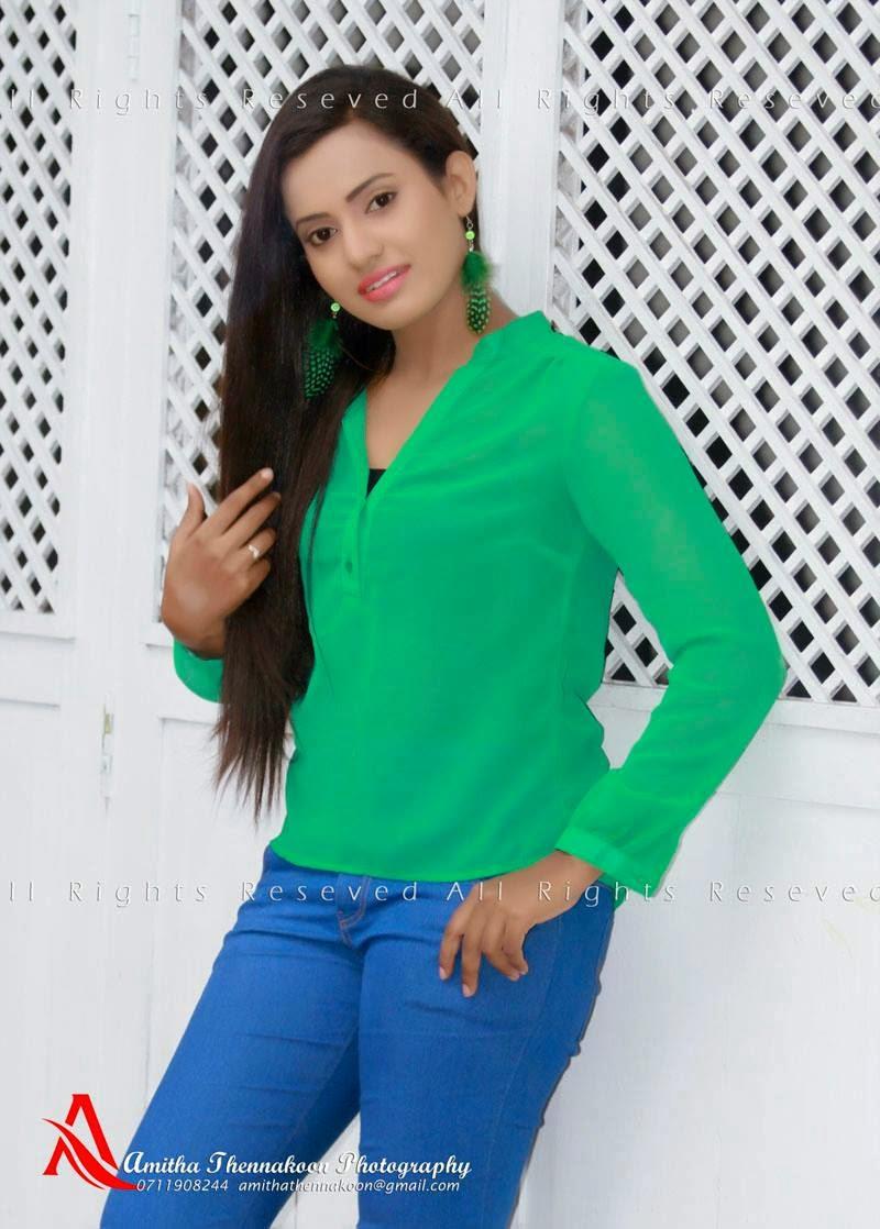 Chethana Ranasinghe blue