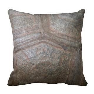 Organic home decor accent throw pillow