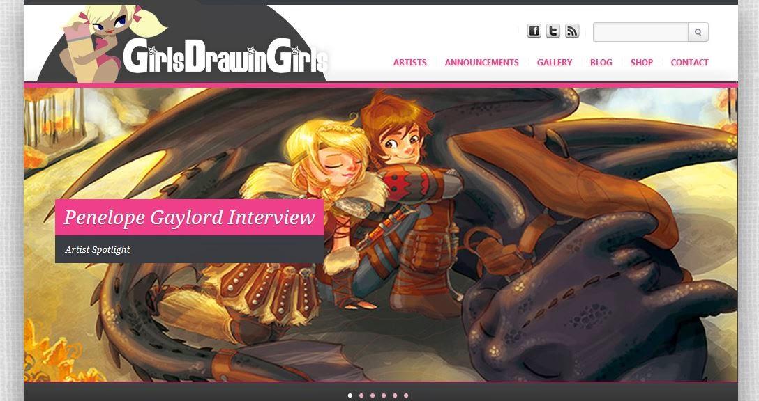 http://girlsdrawingirls.com/artist-spotlight-penelope-gaylord/