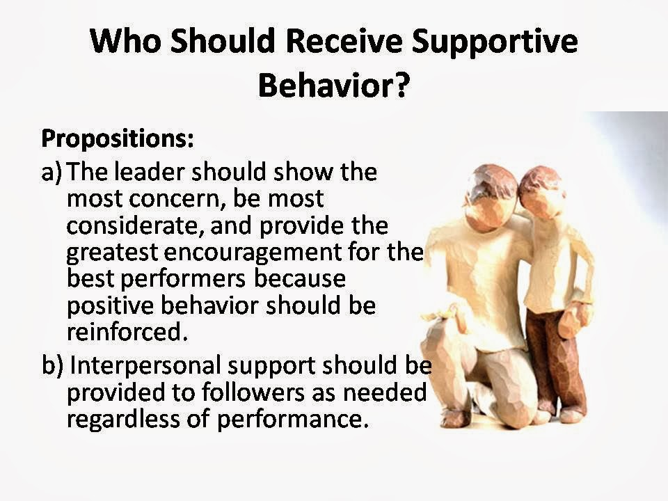 Supportive Leadership PPT Slide 1
