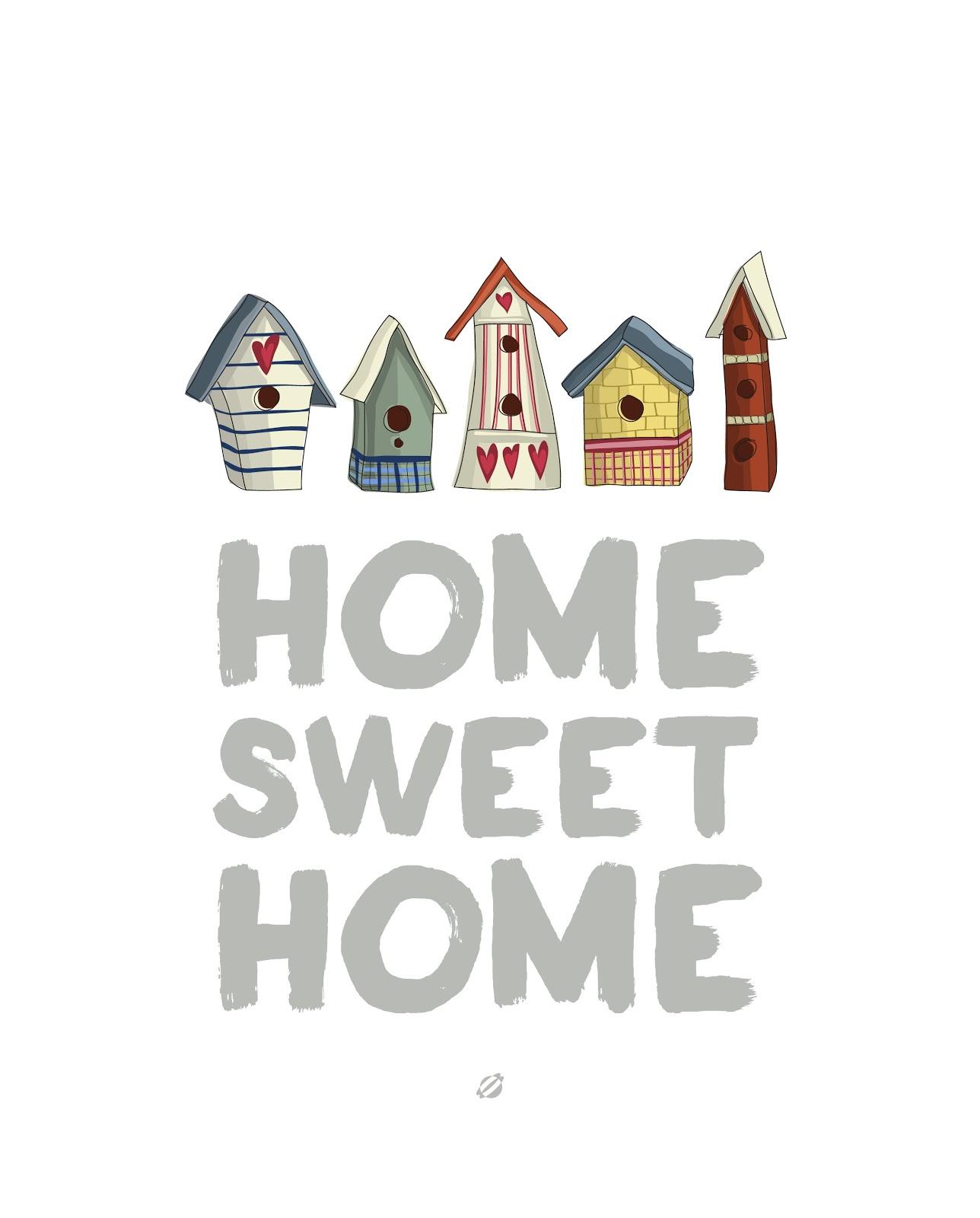 LostBumblebee ©2014 Home Sweet Home FREE PRINTABLE