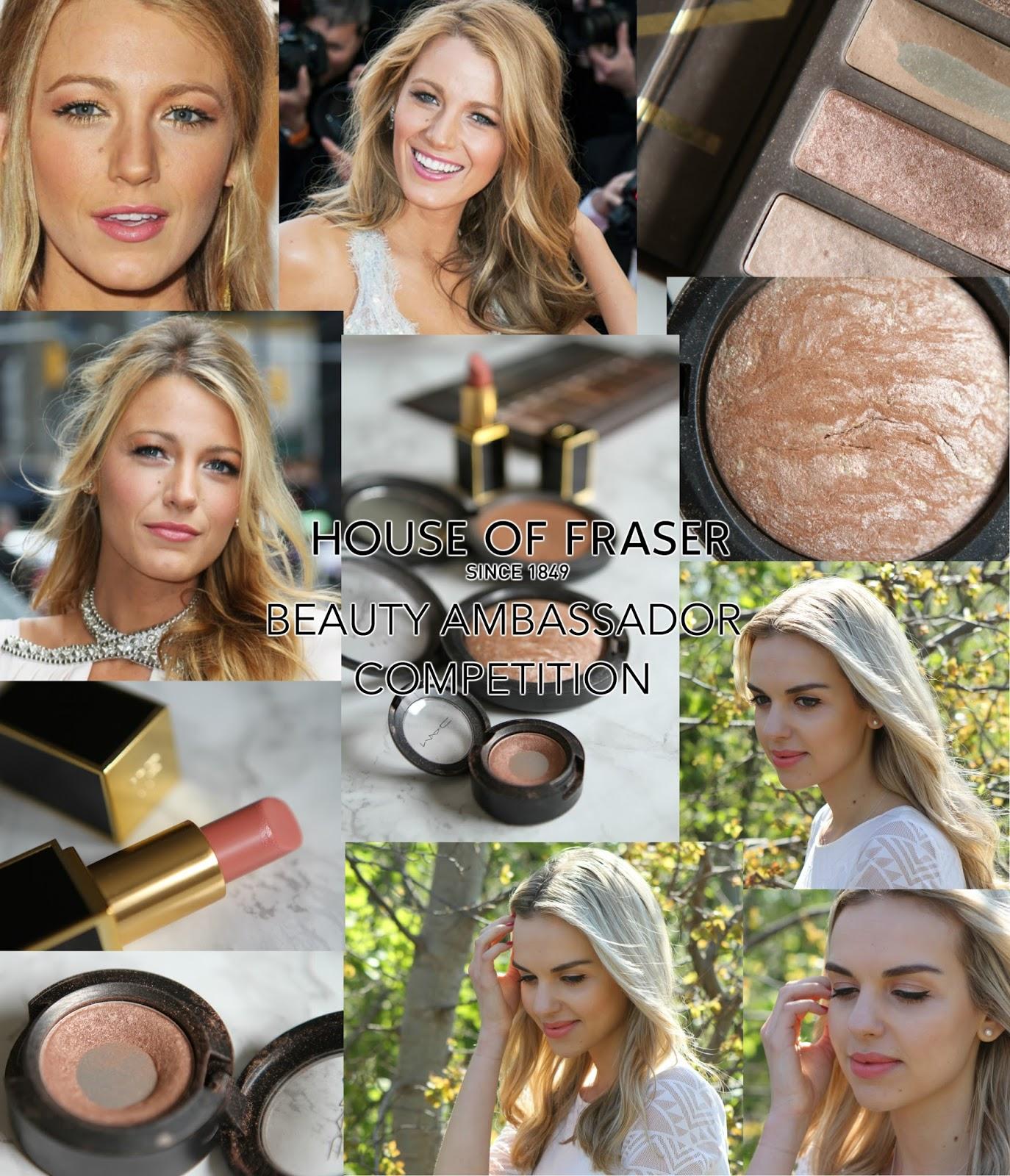 House of fraser beauty ambassador