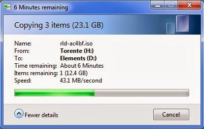 teste WD Elements Portable USB 3.0