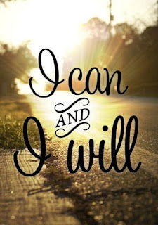 I can, I will motivational quote