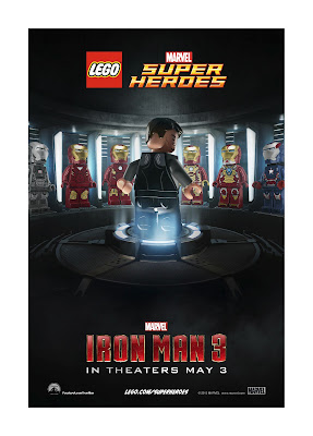 Check Out the Awesome IRON MAN 3 LEGO Posters