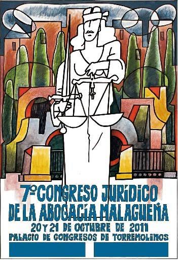 cartel congreso juridico abogacia malagueña