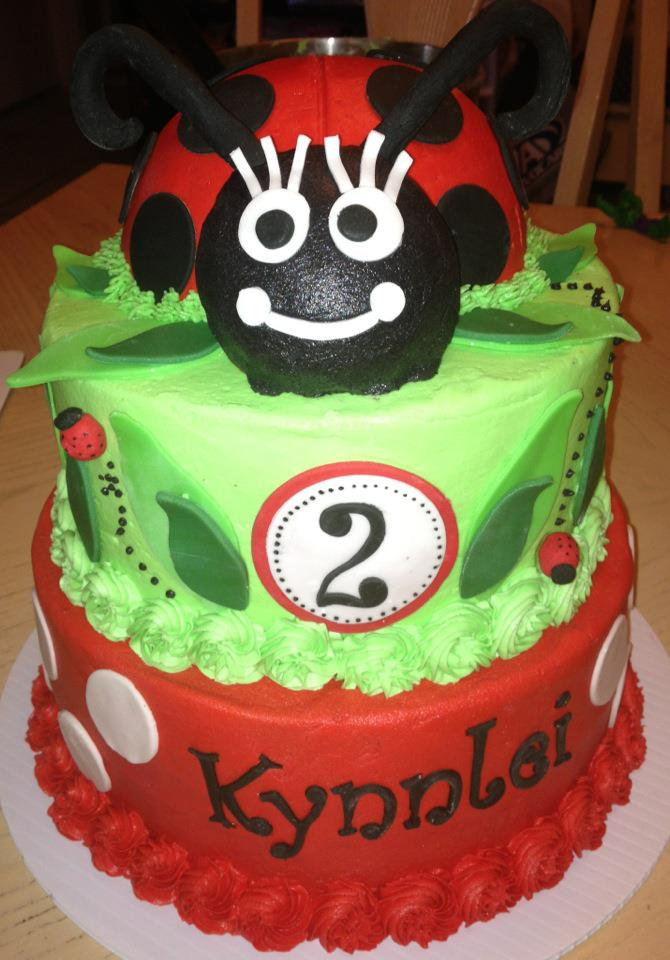 Cakes By Nichole Lady Bug Birthday Cake