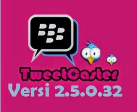 BBM mod TweetCasterStyle Apk running text