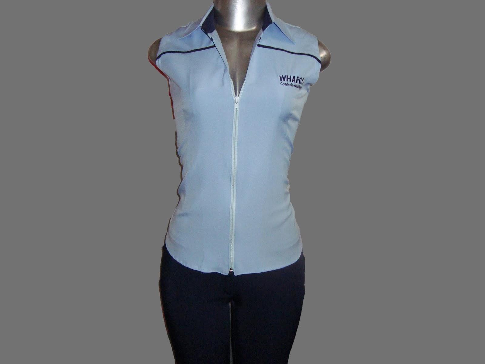 uniforme da whargo comércio e reciclagem