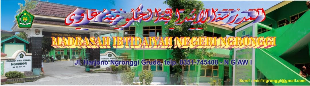 .:: Madrasah Ibtidaiyah Negeri Ngronggi Ngawi ::.