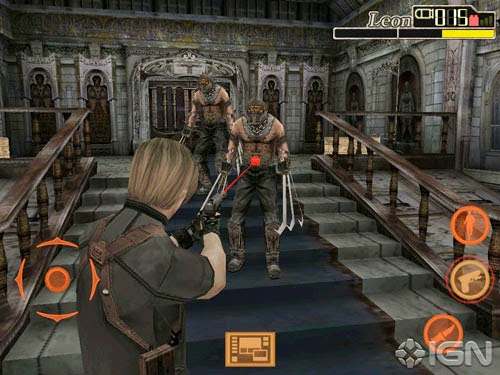Resident Evil 4 APK dan data