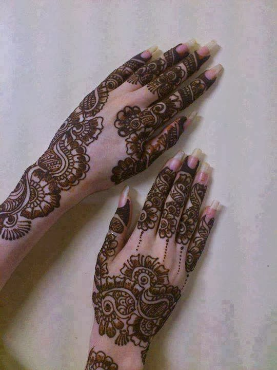 Facebook Dp And Cover Mehndi Designs