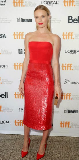 Las Mejor Vestidas de la Semana son... Kate Bosworth de BOSS