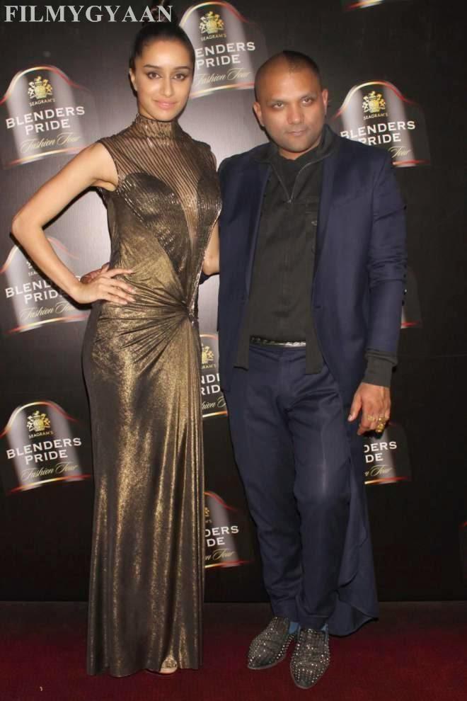 Shraddha Kapoor Looks Hot Showing Spicy Legs In Gaurav Gupta Gown