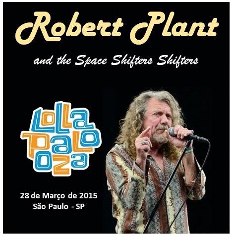 28-03-2015 - ROBERT PLANT - São Paulo - SP