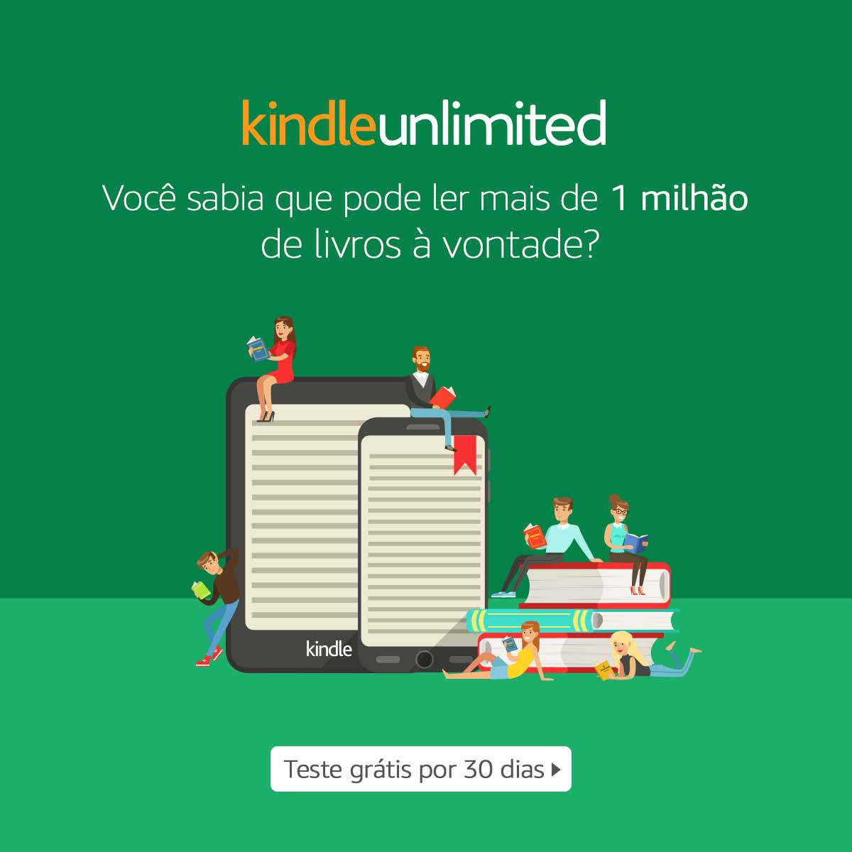 VENHA CONHECER O KINDLE UNLIMITED
