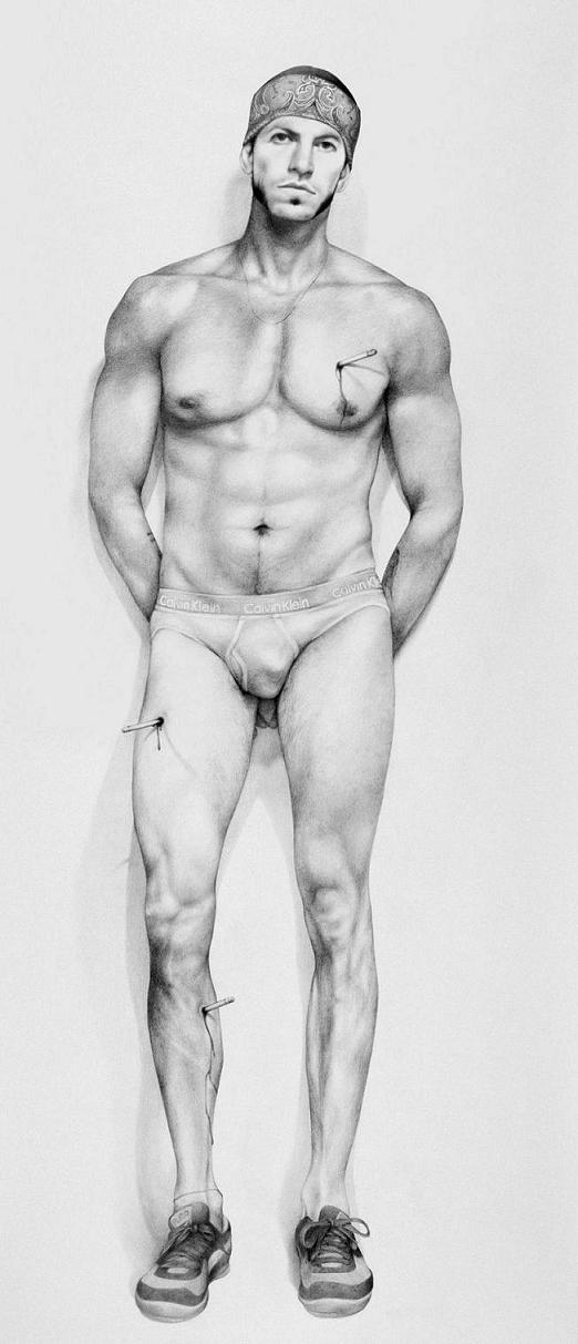 """""""Zachari Logan: La intimidad masculina y el universo homoerótico"""", por Félix Esteves."""