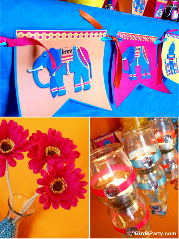 Bollywood Bling Indian inspired Party Decorations