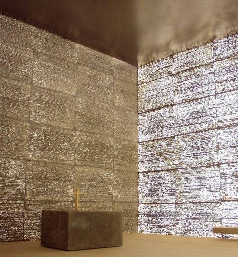 hasta el momento solo ha sido usado de forma experimental para realizar un pequeo monumento conmemorativo de 4 metros que celebra la entrada de hungra en - Hormigon Traslucido