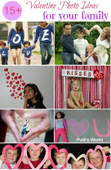 Valentine photo ideas for family
