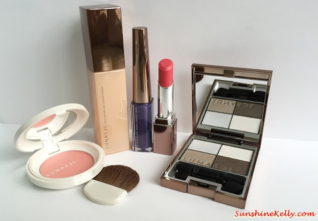 Lunasol Spring 2015, Elegant Purification Makeup, Lunasol