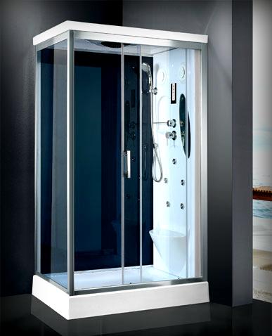 Cabina doccia multifunzione con idromassaggio lombare - Cabina doccia teuco prezzi ...