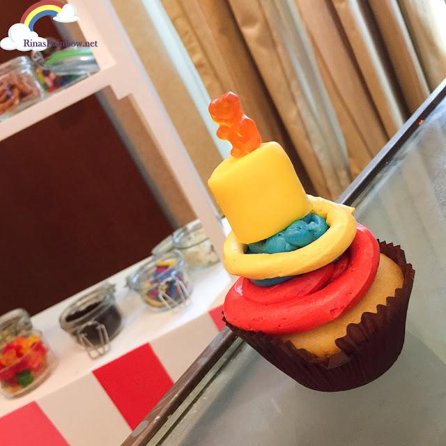 Rain's cupcake