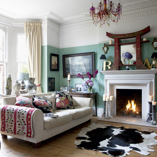 New home interior design good collection of living room for Edwardian living room ideas