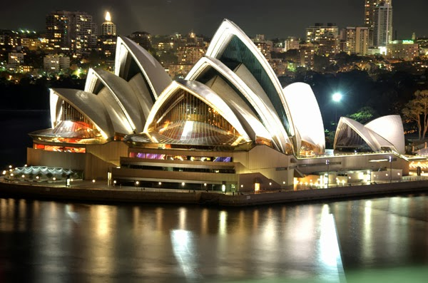 Sydney at night (Australia)