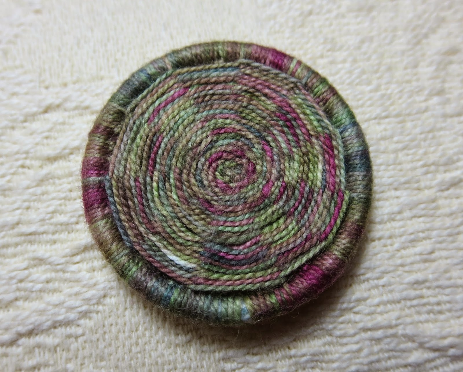 variegated silk thread dorset button