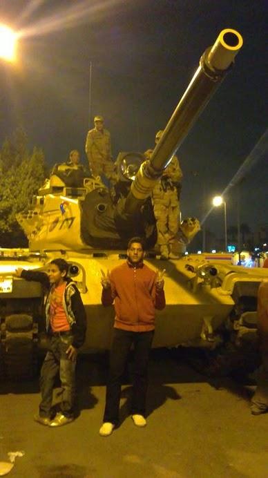 محمد محمد طلعت - الثورة