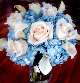 Black And Blue Wedding Ideas