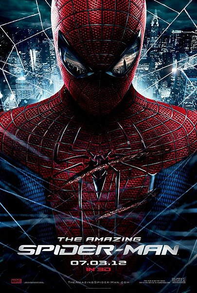 the amazing spiderman poster, 3d movie