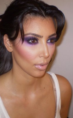 kim kardashian mermaid makeup