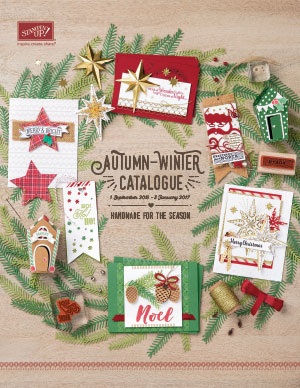 View the Stampin' Up Autumn Winter Catalogue