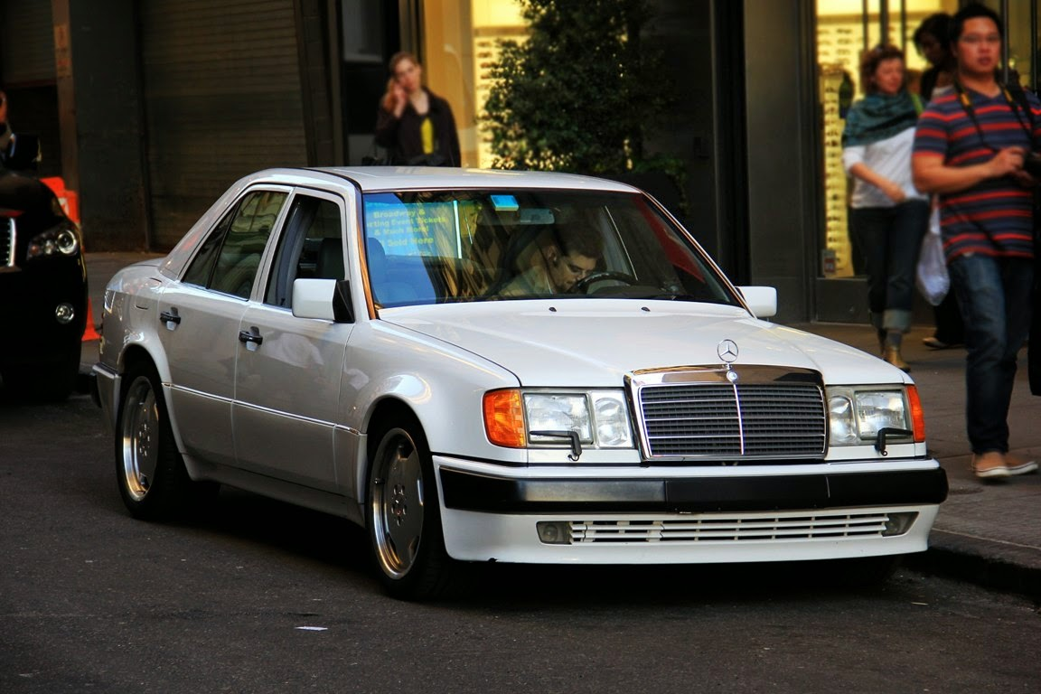 mercedes benz w124 500e white benztuning. Black Bedroom Furniture Sets. Home Design Ideas