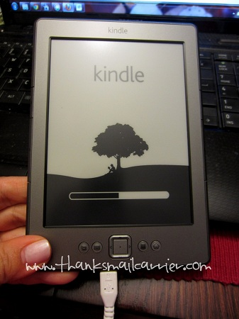 Kindle set up