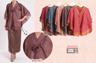 Blus Katun Linen Mawar fit to XL