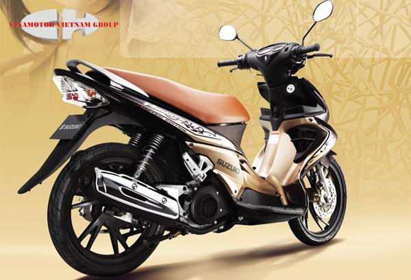 Suzuki Hayate-Những xe tay ga dưới 30 triệu
