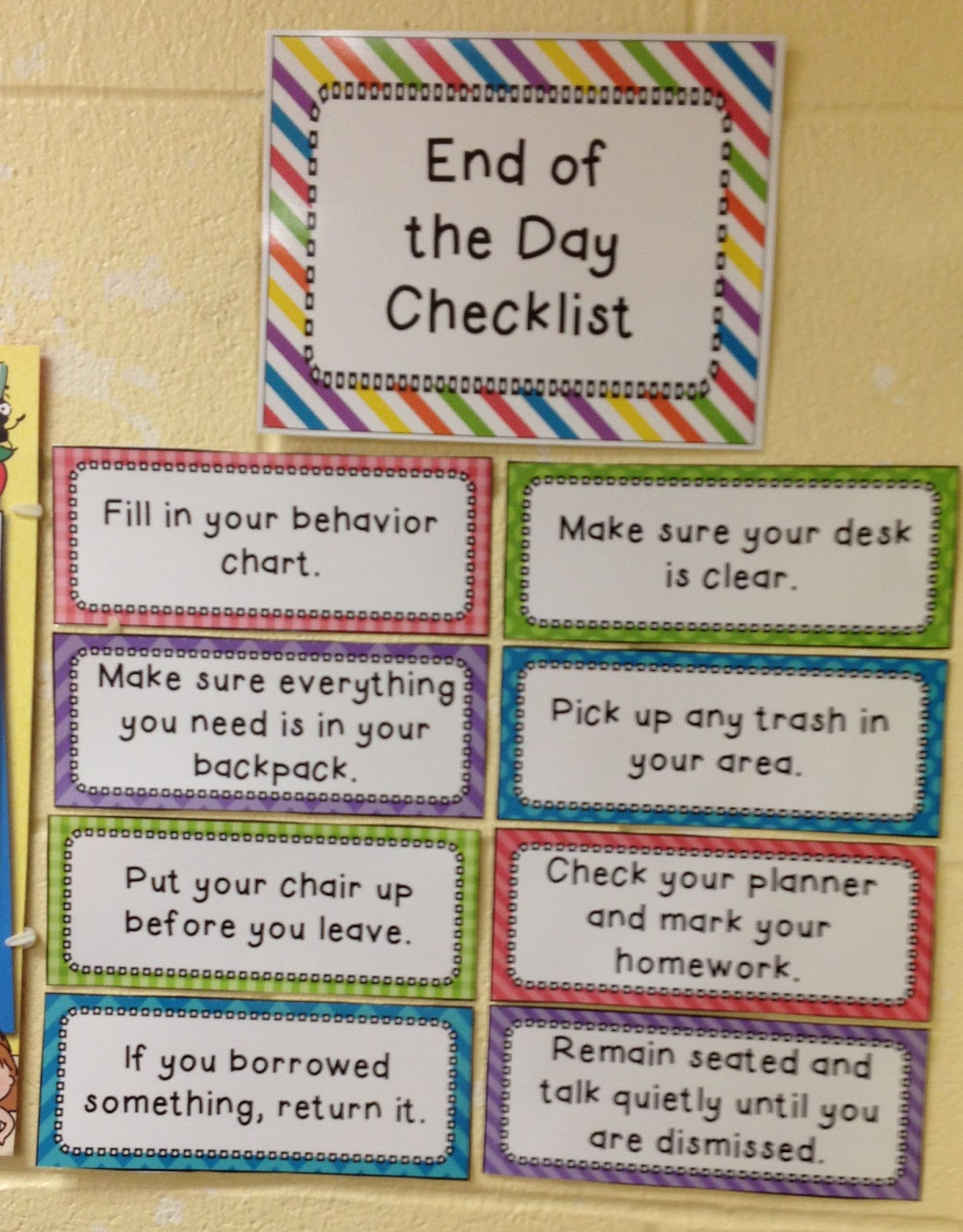 Elementary Classroom Procedures : Fit to be fourth monday made it