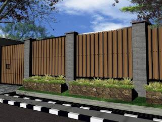 Gambar Pagar Rumah Kayu