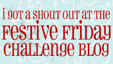 Festive Friday Shout Out - Snowflake Challenge