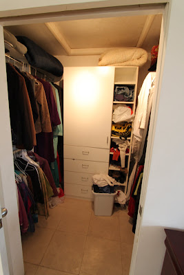 master bedroom closet