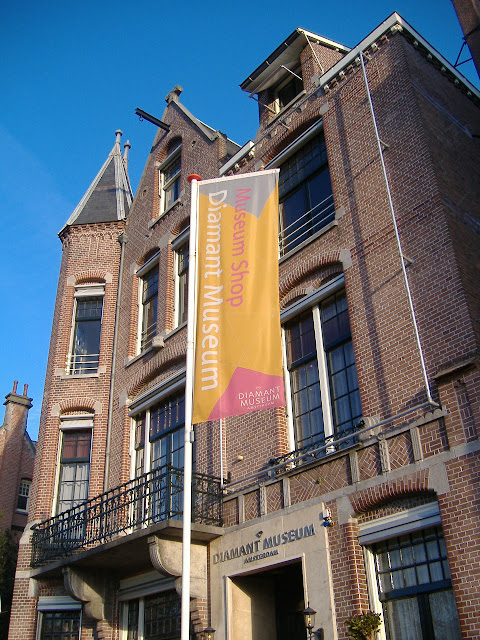 museo del diamante Amsterdam