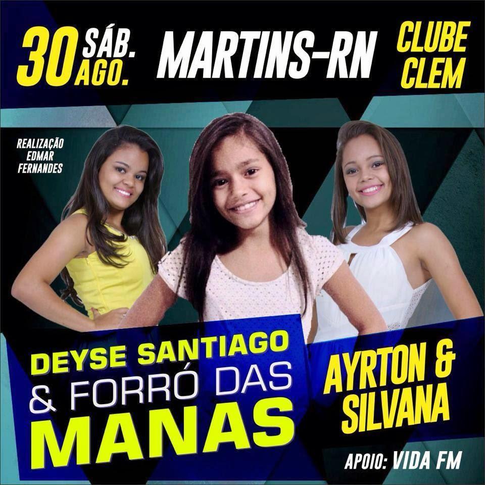 Edmar Fernandes Apresenta Clube Clem Martins RN