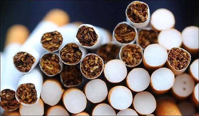 Cigarettes Davidoff made UK
